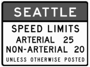 ⑧西市中心 街區降低限速 交通部設定 執行寬限期