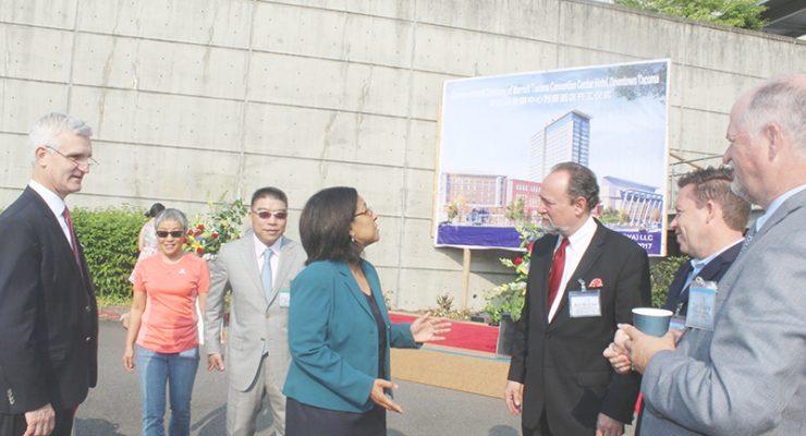 中資投入塔科瑪市創造蓬勃生機 市中心建萬豪酒店與會展中心雙輝映