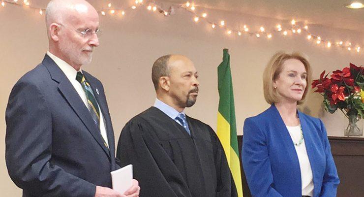 西雅圖市長Jenny Durkan就職典禮