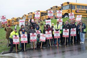 勞工協議終敲定 校車司機停止罷工