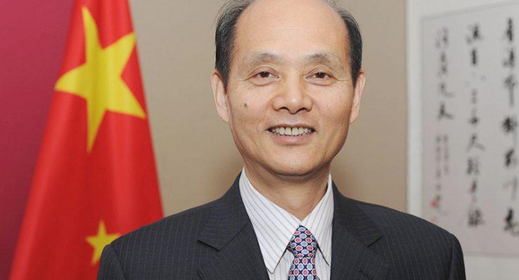 鼓勵僑民努力圓中國夢 羅林泉總領事向西北領區華僑拜年