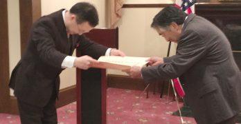代代相傳的櫻花樹遺產 Tetsuden Kashima獲贈旭日令
