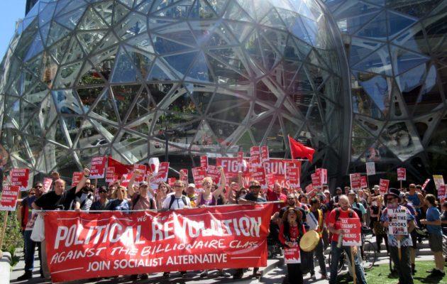 西雅圖市政府向企業徵收人頭稅