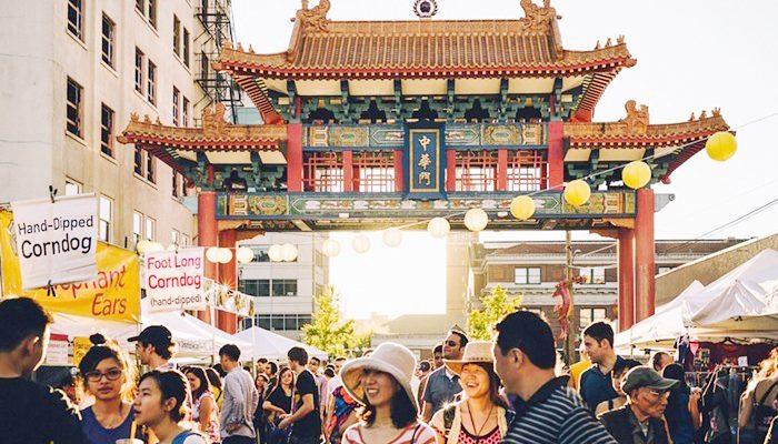 華埠國際區的亮點