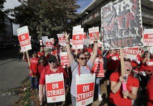 西華州四大校區教師罷工仍繼續