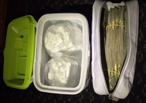 警方華埠成功緝毒 捉拿毒販 繳獲千餘克毒品及萬元現金