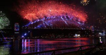 澳大利亞瘋狂的跨年夜
