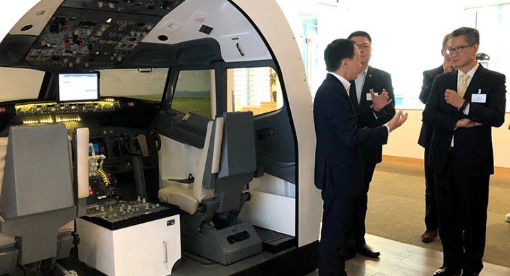 香港財政司長陳茂波訪西雅圖 會晤方威武副市長及微軟高層