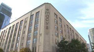 市中心梅西百貨將永久停業 地標性建築樓將出售