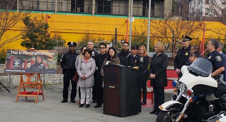 西雅圖警隊強調社區化 去年招募族裔成員創新紀錄