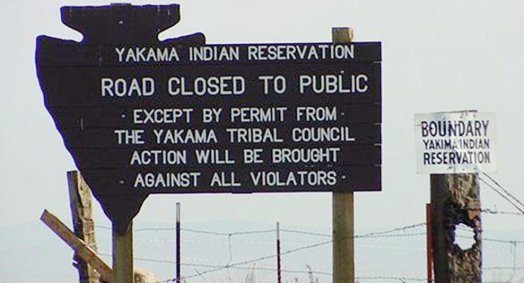 華盛頓州的印地安保留區