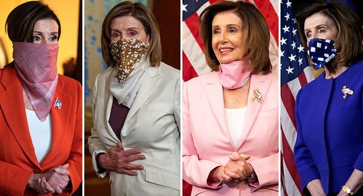 口罩讓女議長超顏值