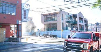 一場大火摧毀了夢想,希望和珍貴的歷史資料  伍胥山商業中心大樓租戶深感失落震驚