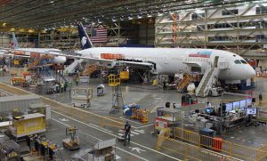 波音公司暫停西雅圖及埃弗雷特生產線運作