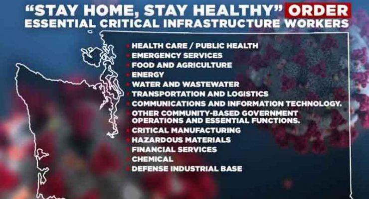 非常時期華州基本業務保持運作 醫療緊急服務食品媒體緊守崗位